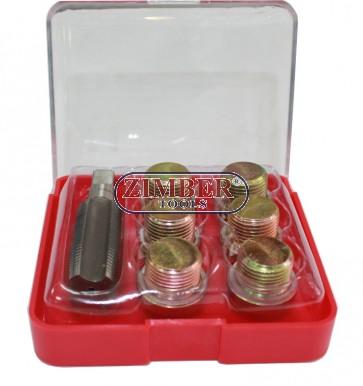 Oil Sump Plug Pan Thread Repair Kit Set M15x1.5  (ZT-04169) - SMANN TOOLS.