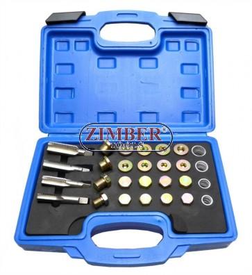 Oil Pan Repair Master Set 64pc, ZT-04A537 - SMANN TOOLS.