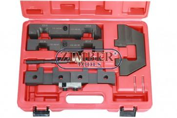 Petrol Engine Setting/Locking Kit BMW M40 / M42 / M50 / M52 / M60 / M62 / M70 / M73, ZT-04A2003 - SMANN TOOLS.