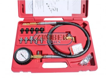 Oil Pressure Tester Set,ZR-36OPT - ZIMBER-TOOLS
