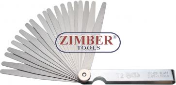 Precision Feeler Gauges 20 Blades (3083) - BGS technic
