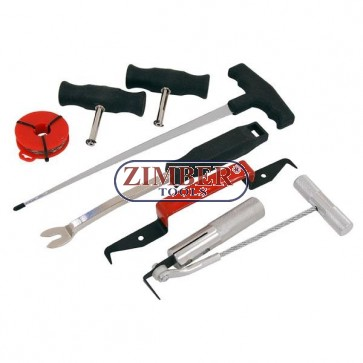 Professional Windshield Removal Tool Kit 7pc,  3552 - NEILSEN