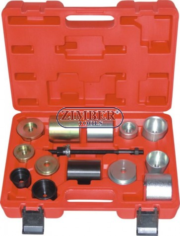 Silent Block Tool Set for BMW, E36/46, E38/39, E60/61, E31, E90/91 - AXLE BUSH TOOLS DIFFERENTIAL - ZT-04B2027 - SMANN TOOLS.