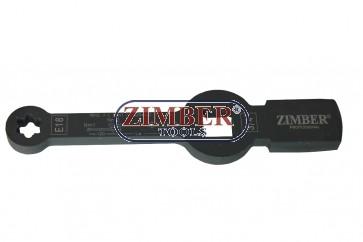 TORX Slogging Wrench E18, MAN TGL TGM - ZR-36TSWE18 - ZIMBER TOOLS