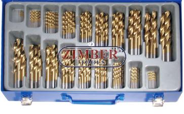 Twist Drill Set | HSS | titanium nitrated | 1 - 10 mm | 170 pcs.1994 - BGS technic.