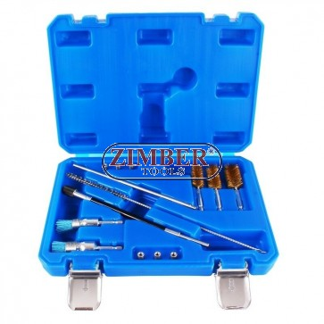 universal-injector-seat-cleaning-set-14pcs-brush-and-injectors-for-mechanic-tools-zr-36dibbs14-zimber-tools