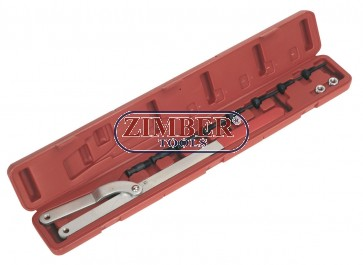 Universal camshaft pulley holding tool