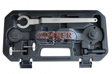 PETROL ENGINE SETTING/LOCKING KIT - VAG 1.2/1.4 TSI - BELT DRIVE - ZR-36ETTS268 - ZIMBER TOOLS.