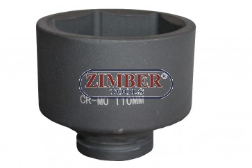 "Impact Socket 1"" Dr. 110mm 6 pt, ZT-01E6055  - SMANN TOOLS"