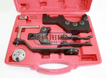 Engine Timing Tool Kit for VAG 2.5 / 4.9D / TDI PD - ZT-05192 - SMANN TOOLS.