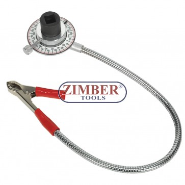 Torque angle meter with a clip- 1/2 - ZIMBER