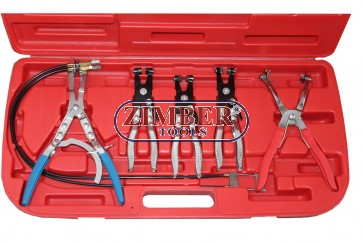 HOSE CLAMP PLIER KIT, ZR-36PUAD - ZIMBER TOOLS.