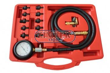 Oil Pressure Tester Set 0-10bar- ZT-04A5042 - SMANN TOOLS