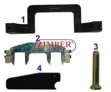 Timing chain replacing tool kit for Mercedes Benz M271, ZR-36ETTSB09 -  ZIMBER TOOLS