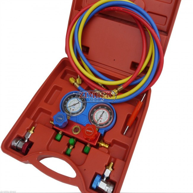Air Conditioning Tools >> A C Air Conditioning Ac Refrigerant Manifold Gauge Set Zt 04d1011 Smann Tools