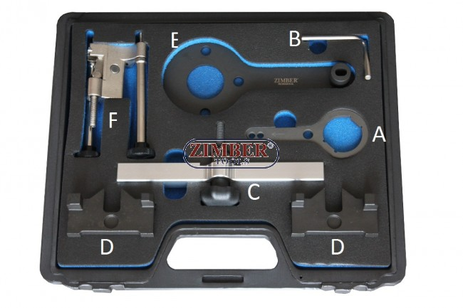 Engine Camshaft Timing Tool Kit For Bmw N63 S63 N74 V8 X6
