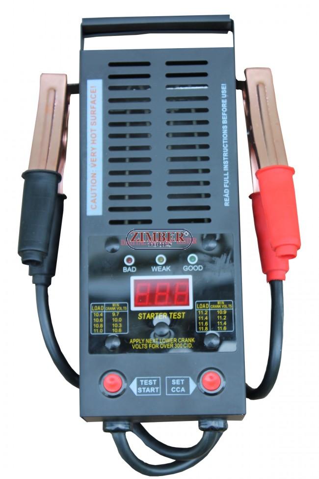 Digital Battery Load Tester,12V 200-1,000 Amps - ZT-04D3002 - SMANN TOOLS