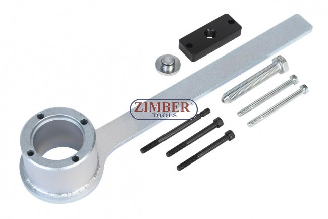Engine Crankshaft Pulley Remover Tool Set-Jaguar-Land Rover V8-Chain Drive  - ZR-36CPR01 - ZIMBER TOOLS