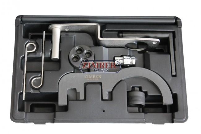 Diesel Engine Setting/Locking Tool Set BMW 2 0/3 0 D N47/N47S/N57  -ZR-36ETTSB70- ZIMBER TOOLS
