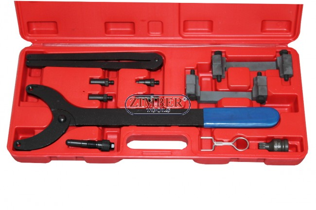 Engine Timing Tool Kit For Audi A4 A6 A8 3 2L V6 FSI Chain Engine Set-  ZT-04A2126 SMANN TOOLS