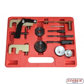 12-piece Engine Timing Tool Set for Renault / Opel / Nissan - (ZT-04568) - SMANN TOOLS