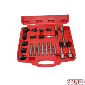 К-т за демонтаж на шаибите на алтернатори 22 части, ZT-05075 - SMANN TOOLS