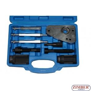 Nozzle Extractor Set - Peugeot, Citroen и PSA 2.0 JTD Fiat, Lancia  - ZT-05191 - SMANN TOOLS.