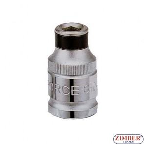 """1/2"""" (F) Bit holder 10mm (F) 81047 - FORCE"""