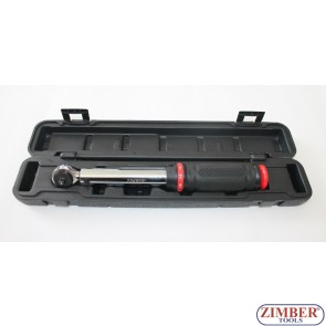 "Micrometer Torque Wrench 6~30 Nm, 1/4"" (ZR-17WSTW14) - ZIMBER-TOOLS"