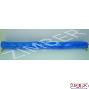Coiled Pneumatic Hose 12m/5x8mm