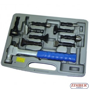 9pcs lead more hammer, ZR-36LMH - ZIMBER TOOLS
