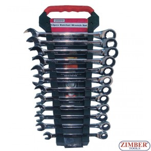 12pcs Ratchet Wrench Set , ZR-17RWS12V02 - ZIMBER  TOOOLS