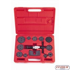 Brake Caliper Piston Wind back Tool Kit 13pcs - FORCE