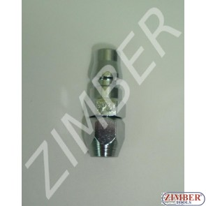 Air line quick coupler 5x8mm ZDC 2 Steel Japanese type - ZIMBER