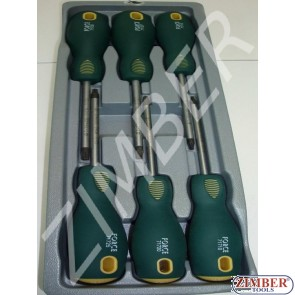 6-pc. Star screwdriver set - 2061 - FORCE