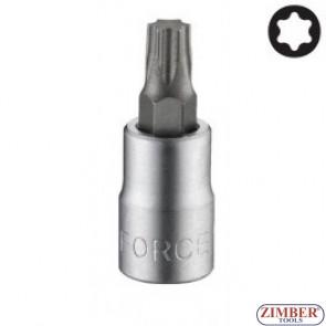 """Star socket bit T20, 1/4"""" L32mm (3263220) - FORCE"""