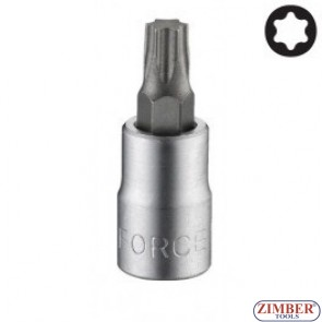 "Star socket bit T30, 1/4"" L32mm (3263230) - FORCE"