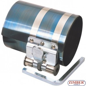 "PISTON RING COMPRESSOR 4"" height, capacity 3-1/2"" to 7""  (60-125mm) - ZIMBER TOOLS"