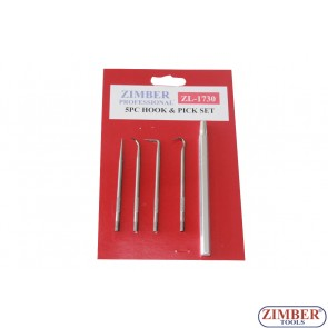 O-Ring-Hook-Set | 5 pcs, ZL-1730-ZIMBER TOOLS.