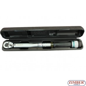 "Torque Wrench 3/8"" - 20-110Nm,  ZR-17TW38110 - ZIMBER - TOOLS"