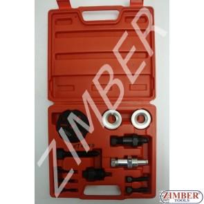 Compressor Clutch Removal Tool - ZIMBER TOOLS
