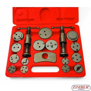 BRAKE CALIPER WIND BACK KIT 18PCS - ZR-36DBPCSTK18 -ZIMBER TOOLS.