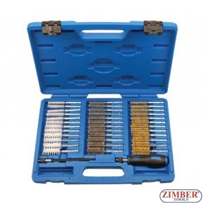Master Driver / Wire Brush Assortment Set 38pcs  - ZT-HGA32 - SMANN TOOLS