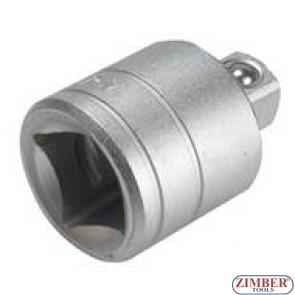 """Adaptor 3/4""""(F) x 1/2""""(M) - ZR-04A341202 - ZIMBER-TOOLS"""