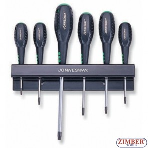 Screwdriver Set 6pc. (D20T06S) - JONNESWAY
