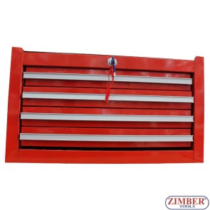 4 Drawer metal tool box