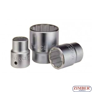 Drive socket 30mm 3/4 12pt.- FORCE