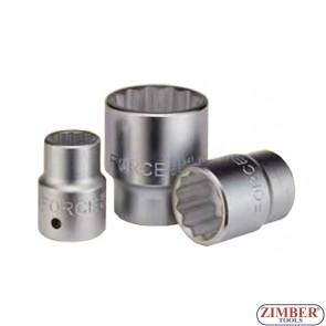 Drive socket 30mm 3/4 12pt.- FORCE
