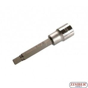 "1/2"" Hex socket bit 100mmL 10mm (ZB-4264) - BGS"