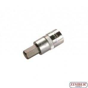 "1/2"" Hex socket bit 53mmL 12mm (ZB-4256) - BGS"